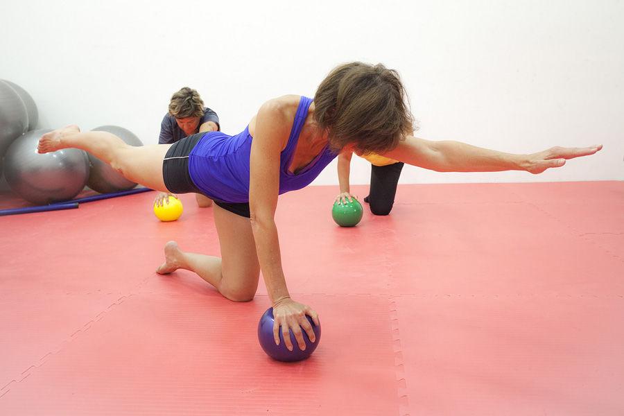 Cours de pilates - � Vincent FAVRE