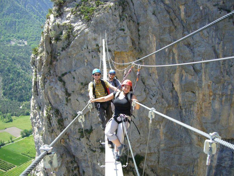 Via ferrata - Guides des 2 Vallées - © Guides des 2 Vallées