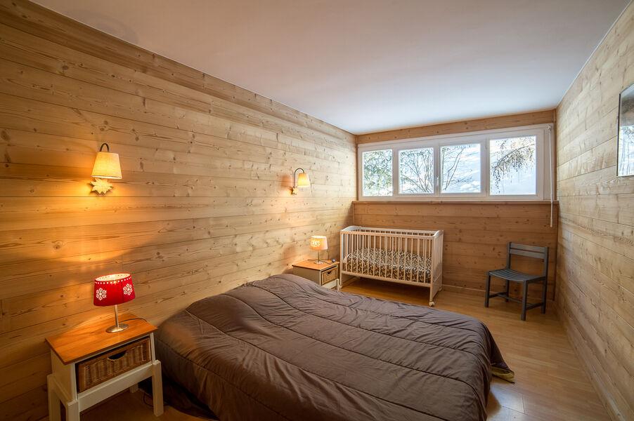 chambre parentale Le Chamois - © G.BARON