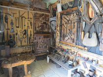 Visite du Musée du petit hameau de Poux - Intres