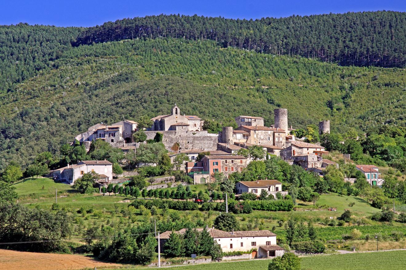 Village de caractère de Saint-Vincent-de-Barrès