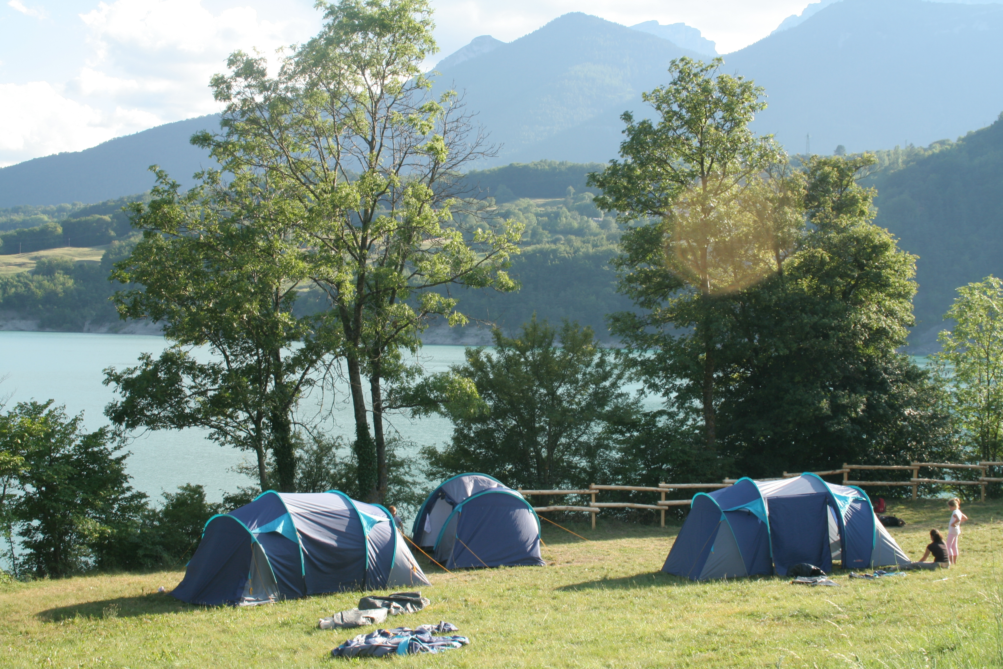 Camping du Lac du Sautet