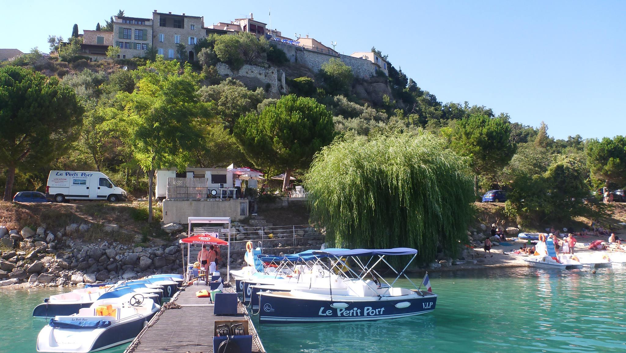 Le petit port - Sainte croix du verdon office du tourisme ...