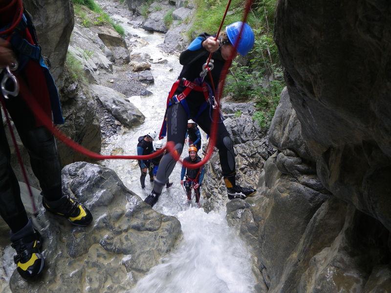 Sortie en canyoning avec François Chaix, Hautes-Alpes - © Francois Chaix / Véga Passion
