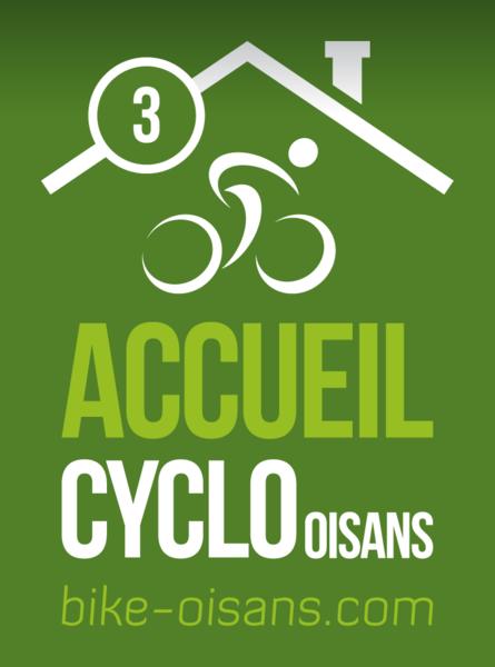 Label Cyclo 3 Vélos - Hotel Edelweiss - La Grave - © Oisans Tourisme