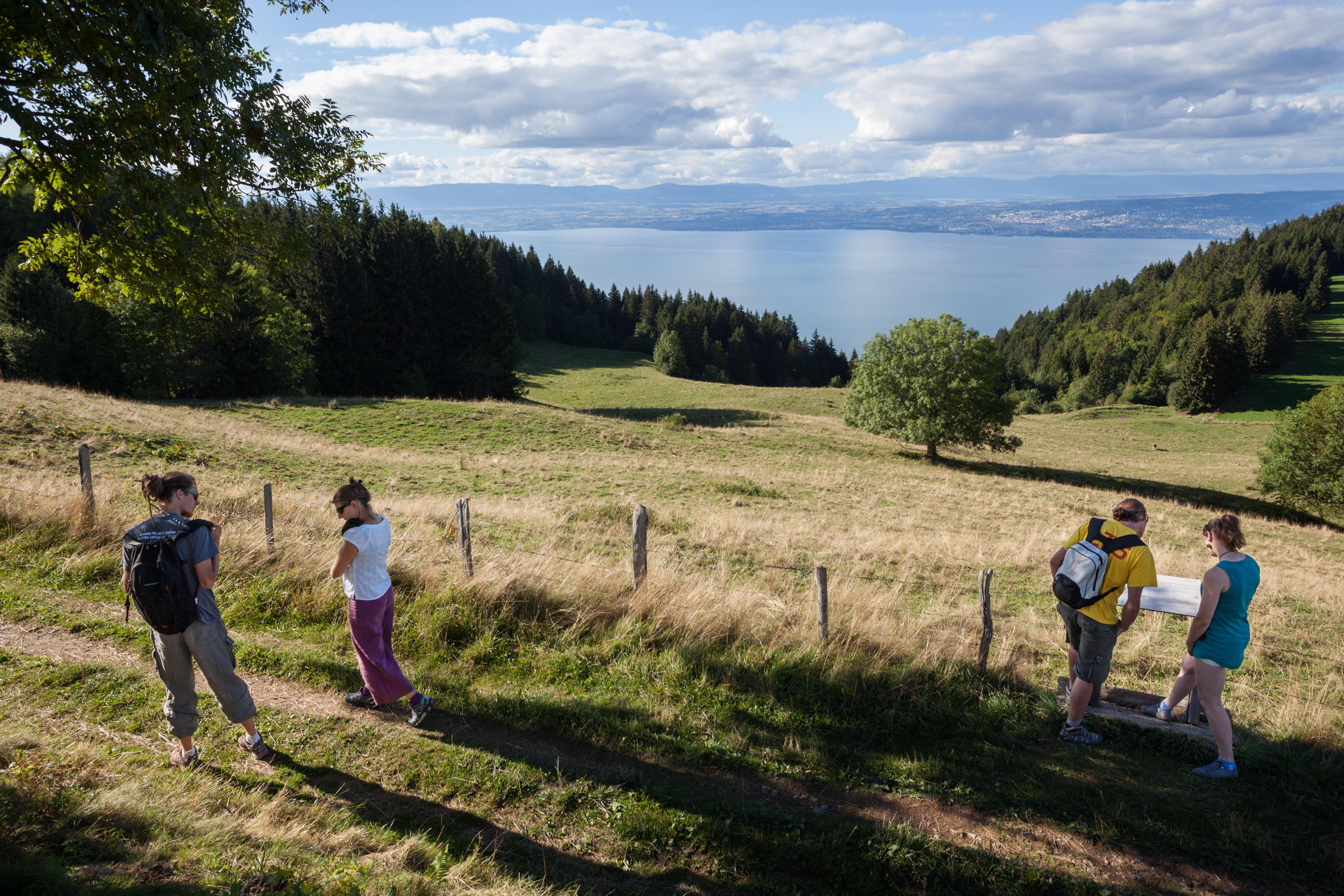 Tour du Mont Bénand randonnée pays d'Evian