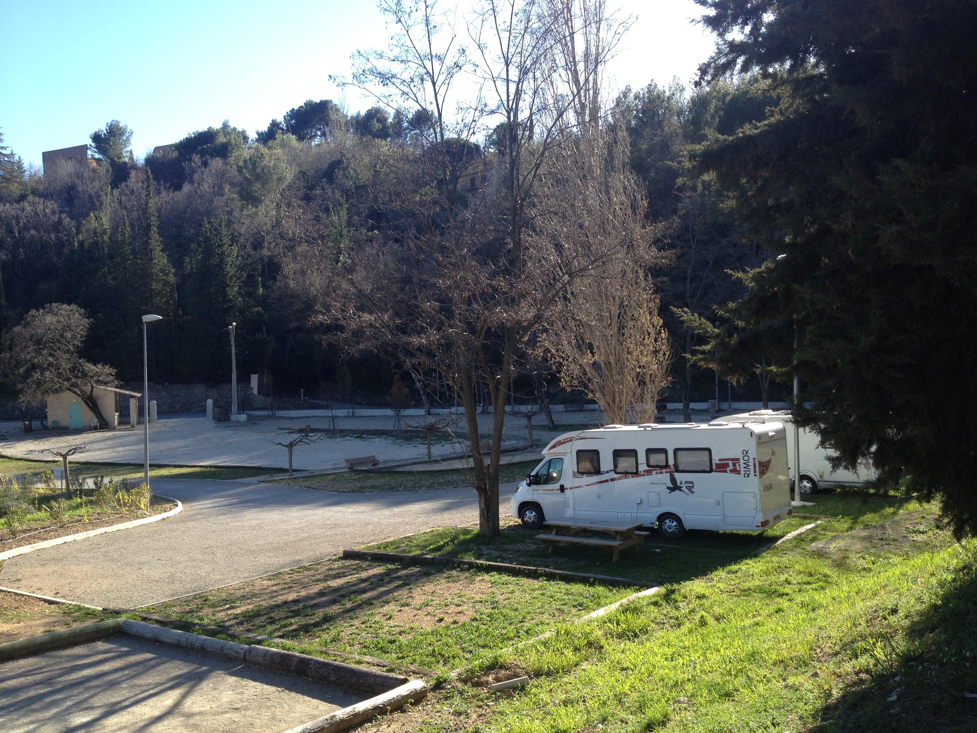 Aire d'accueil de camping car