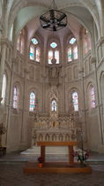 Eglise du Sacré Coeur intérieur Ⓒ Delphine Antenne Lurcy