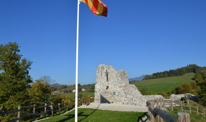 Remains of Faucigny castle