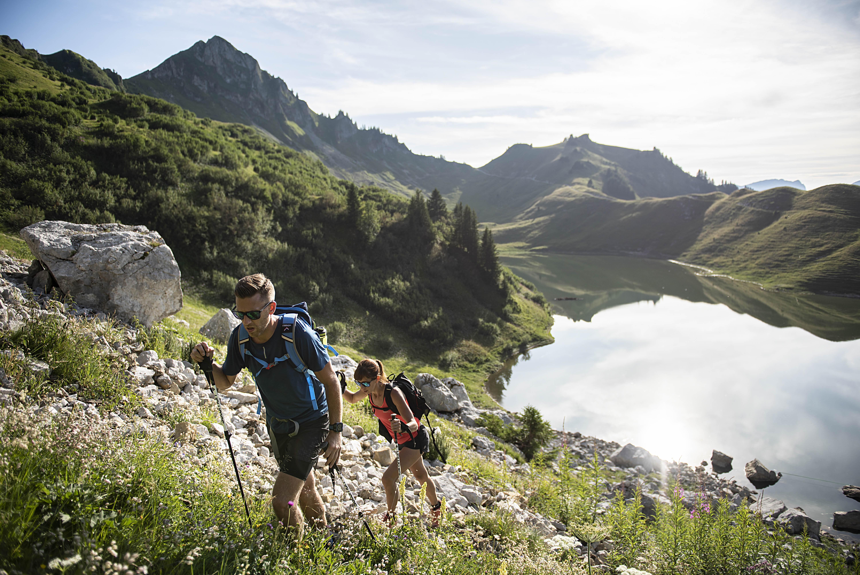 Tour du Roc des Tours et Lac de Lessy randonnée au Grand-Bornand