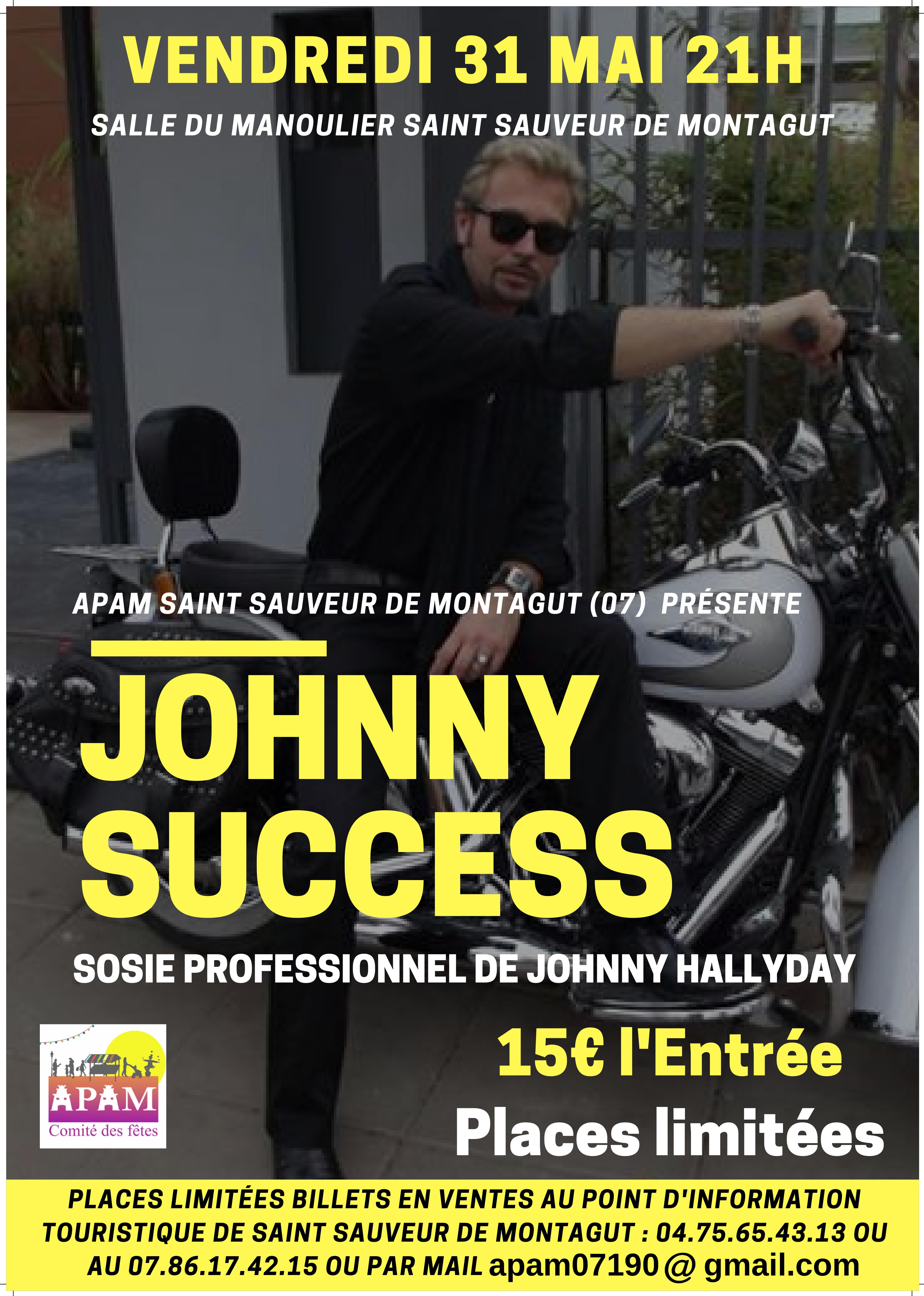 Ascension en fête : Show concert de Johnny Success