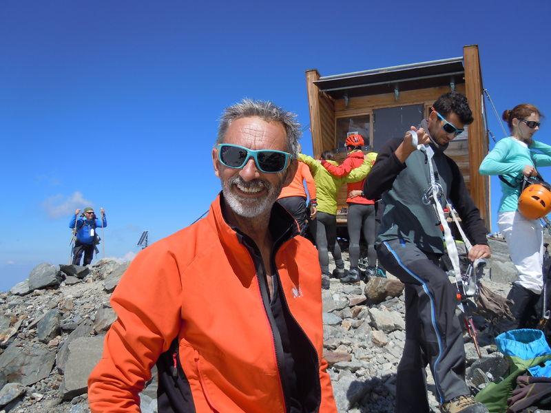 Sortie alpinisme avec François Chaix - © Francois Chaix / Véga Passion