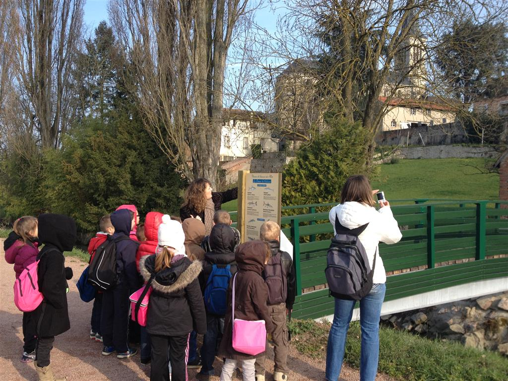 Chemin d'interprétation Groupe Ⓒ Ot Varennes 2014