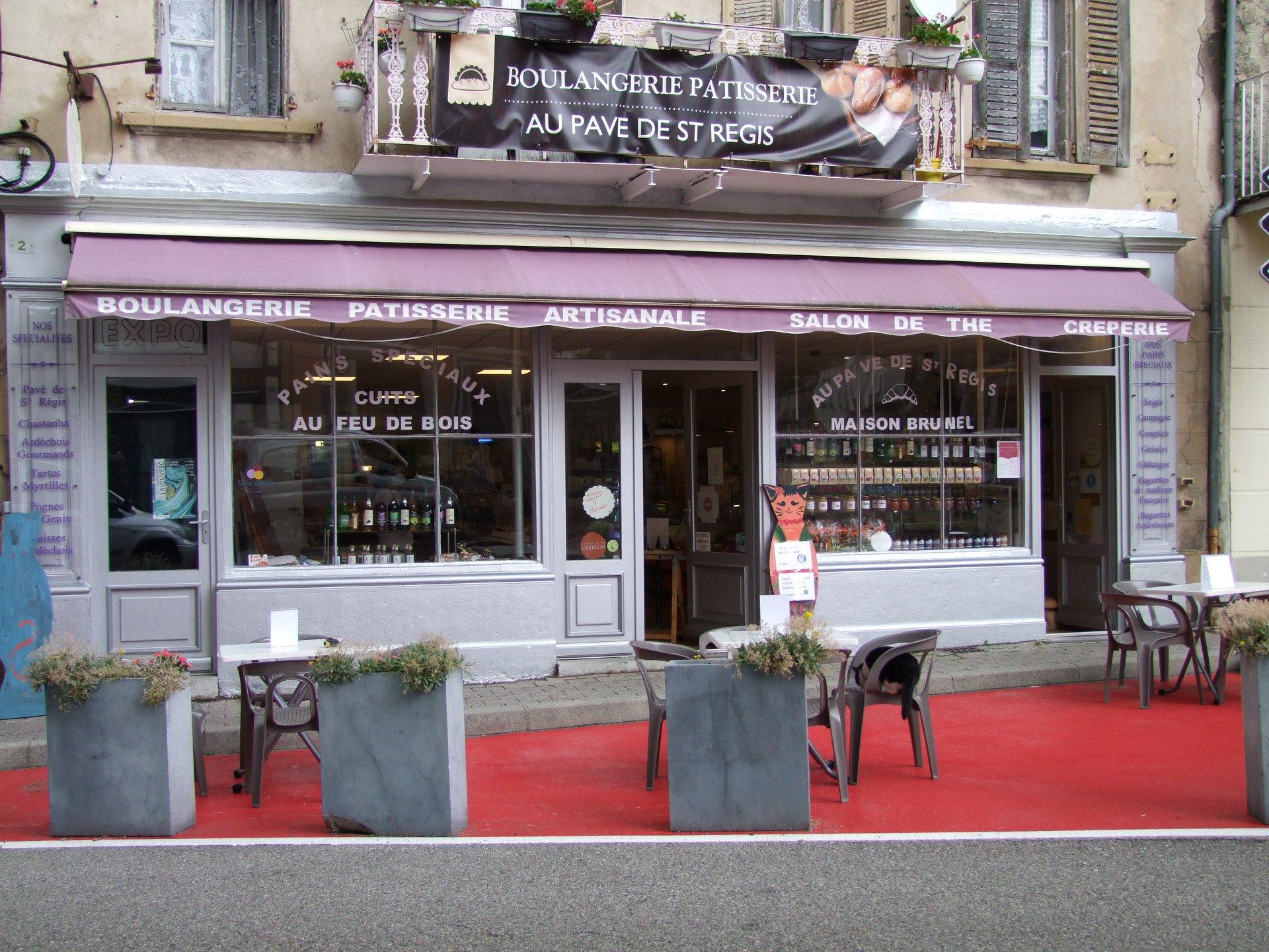 Boulangerie - pâtisserie Au pavé de St Régis (Lalouvesc,A