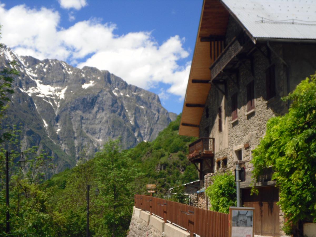 maisons typiques à Venosc