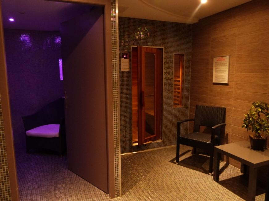 sauna bain