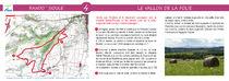 Fiche verso Le vallon de la Folie Rando'Sioule n° 4 Le vallon de la Folie carte et descriptif Ⓒ Smat du Bassin de Sioule