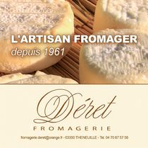 Fromagerie Déret & Fils Flyer Ⓒ Fromagerie Déret & Fils