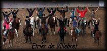 Centre équestre L'étrier de Villebret Cours enfant Ⓒ Étrier de Villebret - 2015