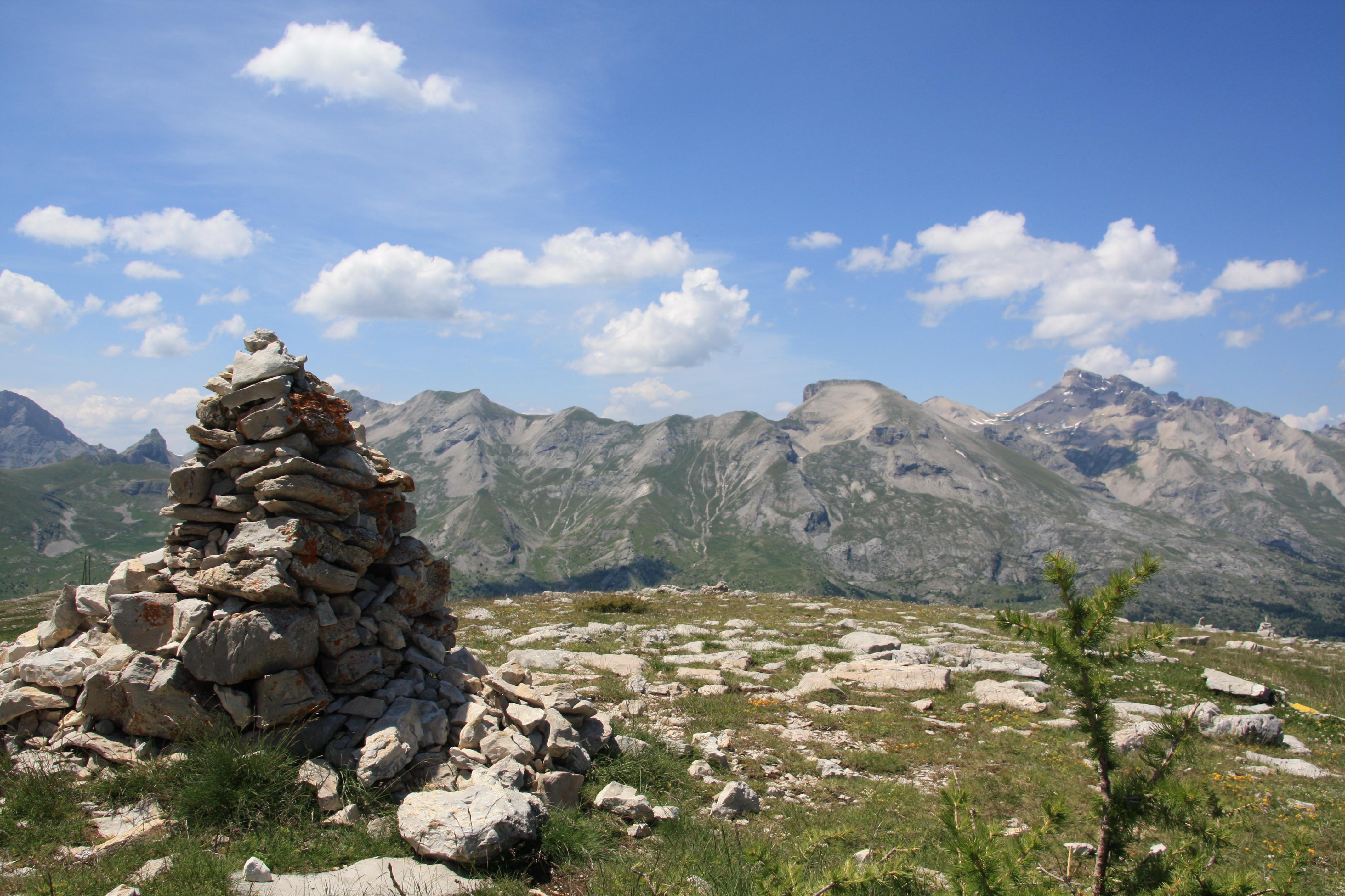 Sentiers des cairns