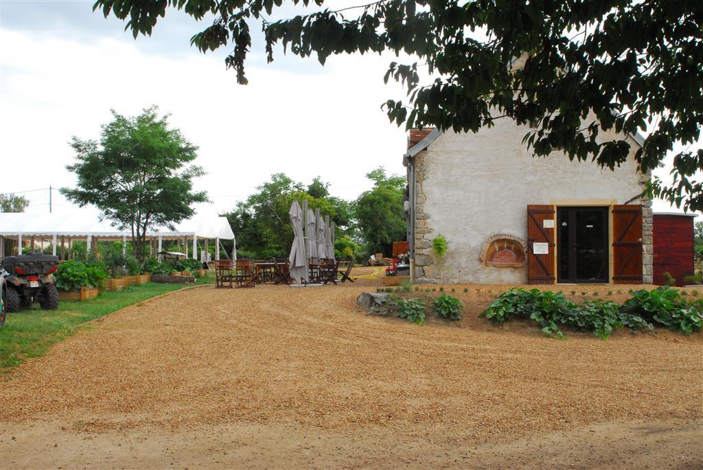 Village toue du Domaine des Demoiselles Accueil Ⓒ Domaine des Demoiselles - 2015
