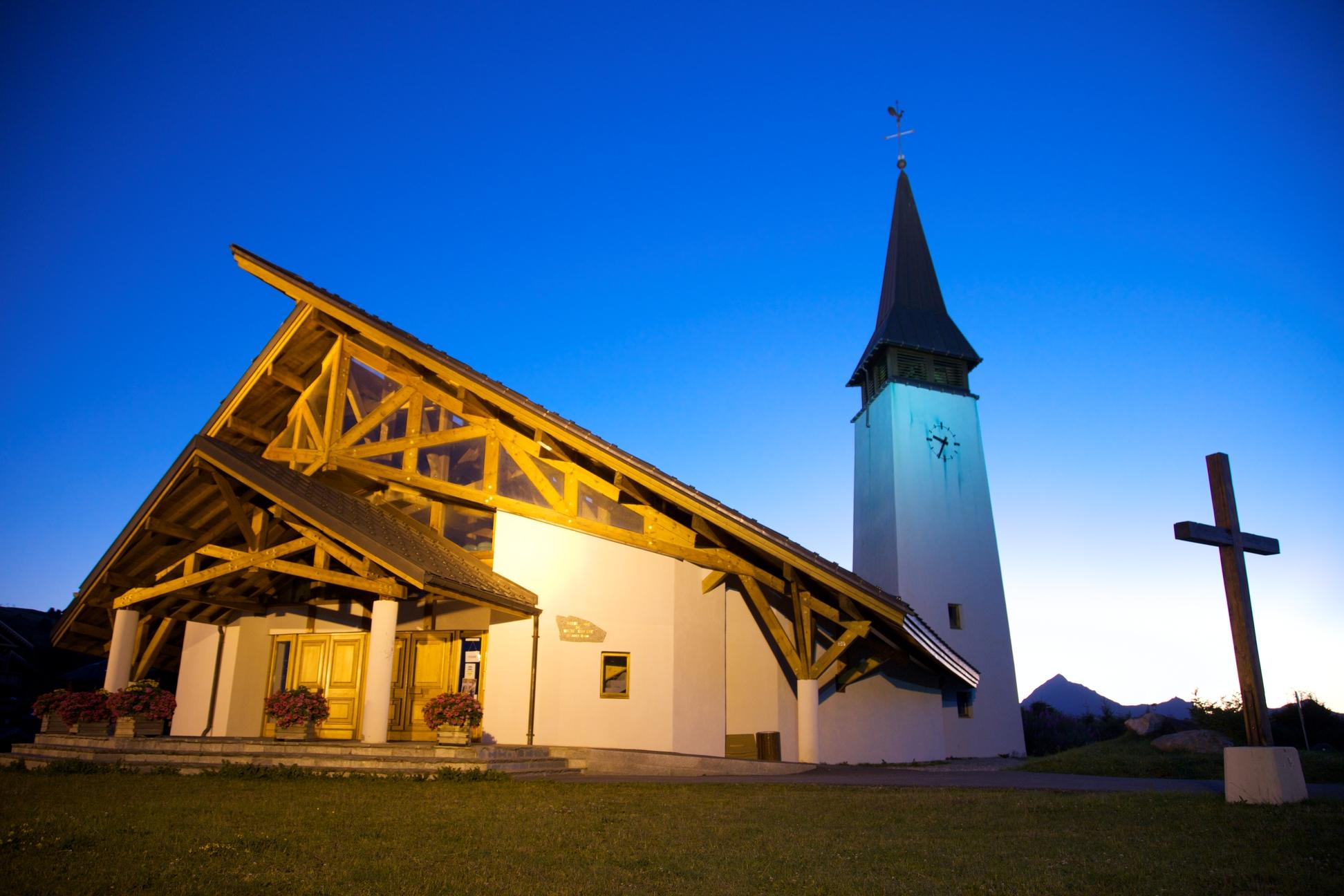 Notre Dame de Haute Lumière chapel
