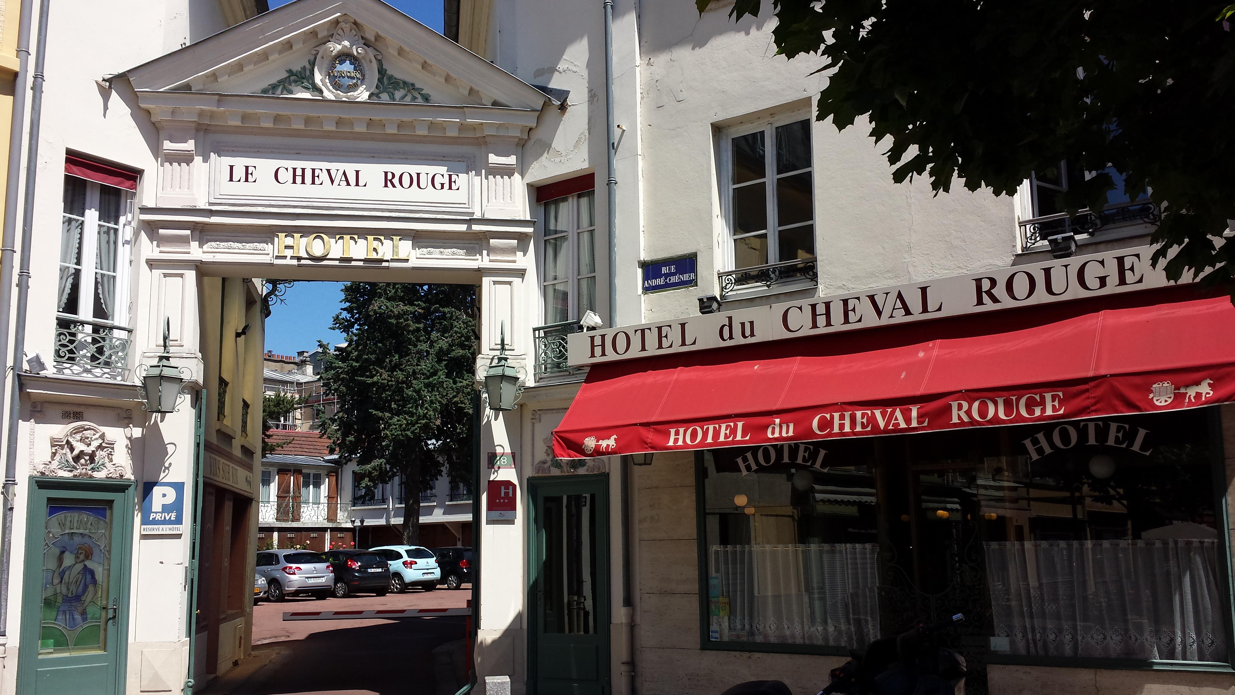 H tel du cheval rouge versailles office de tourisme de for Tourisme versaille