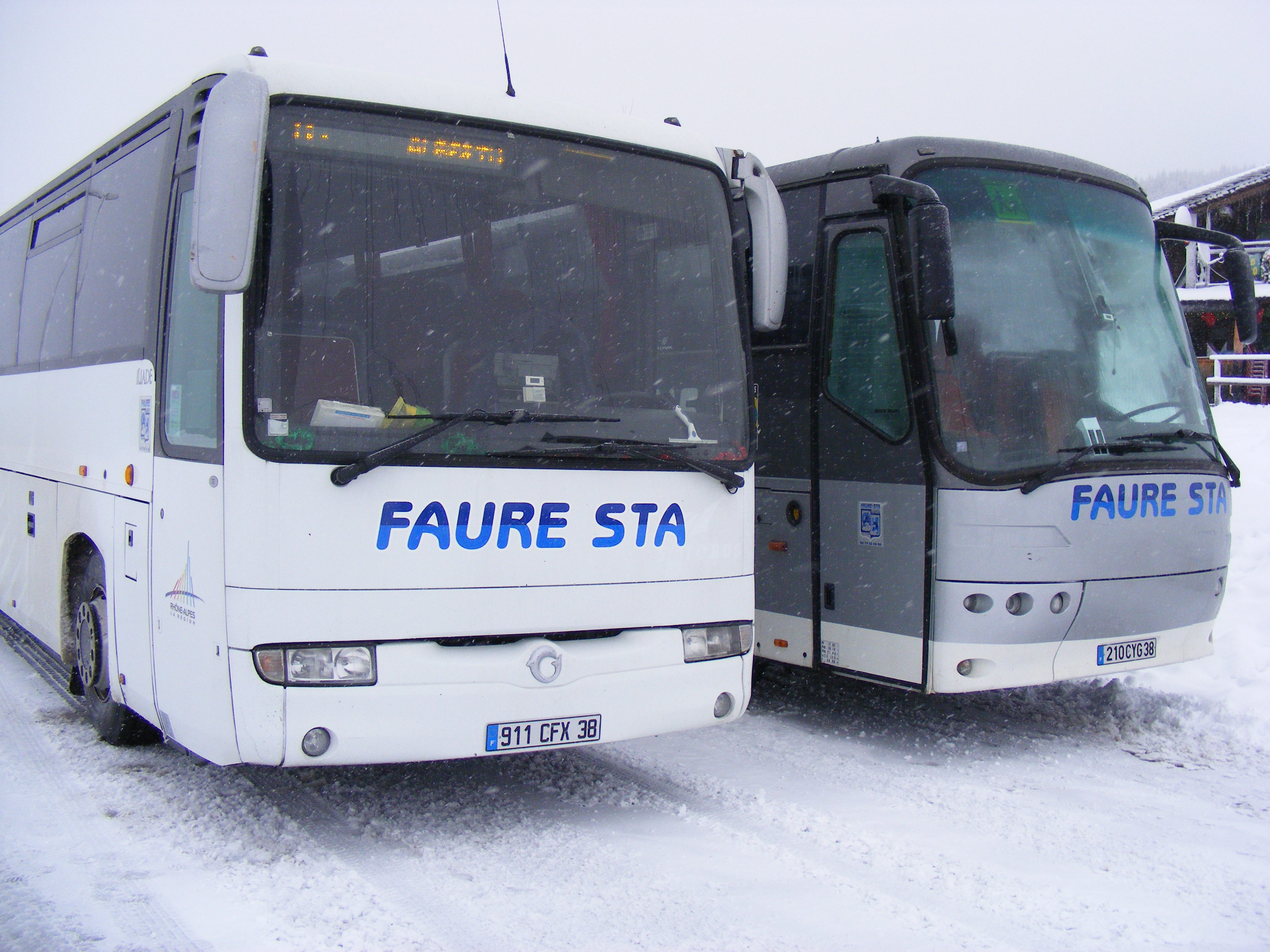Parking du Col - Bus