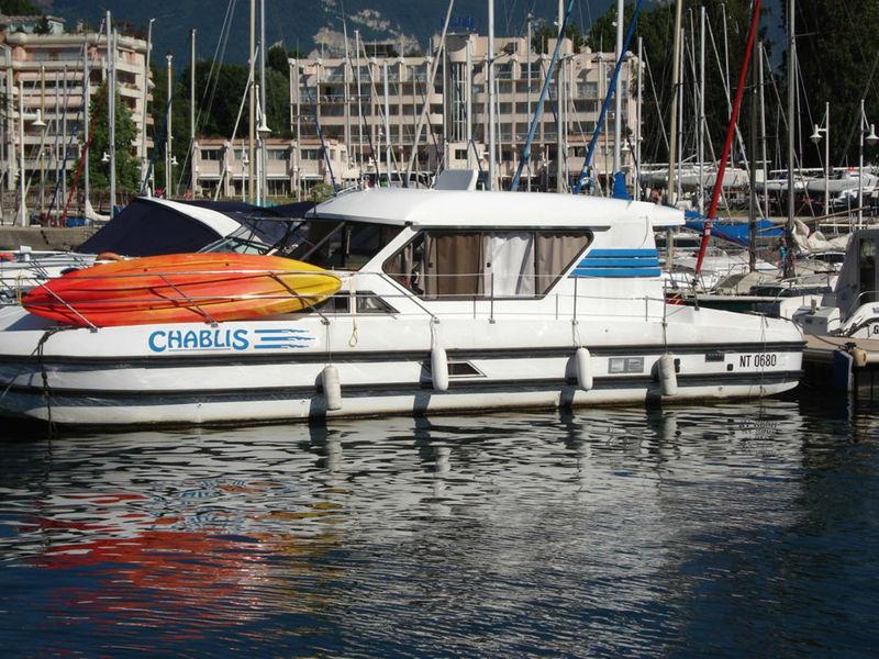 Station nautique : Office de tourisme Aix les Bains, Activités nautique Aix les Bains, Savoie - location de pénichette habitable