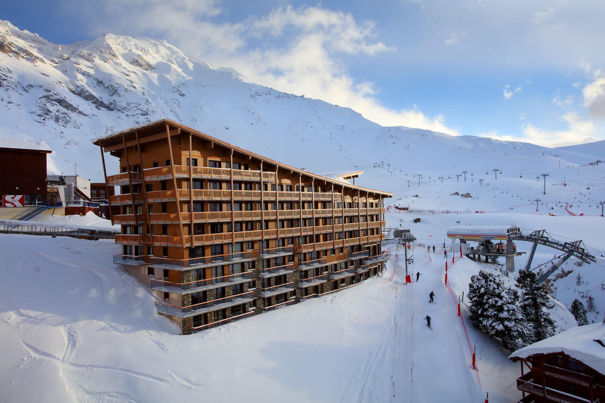 location chalet ski arc 1800