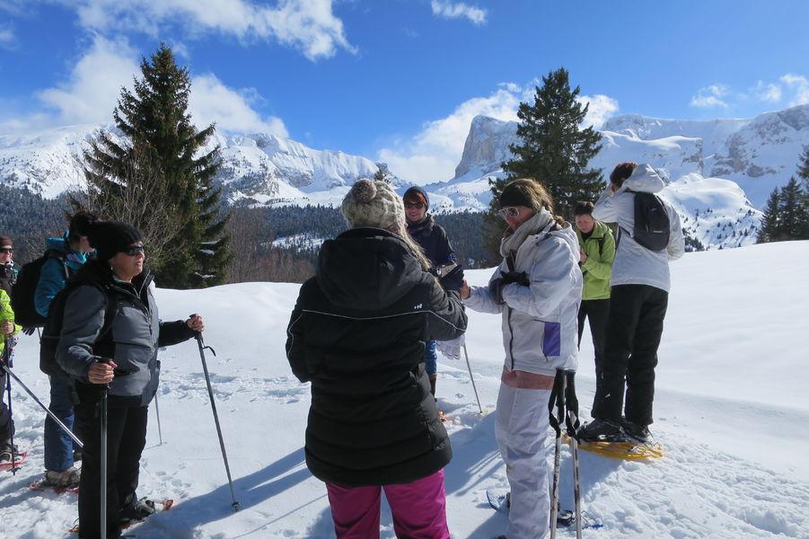 Sortie raquettes accompagnées avce Marianna - Dévoluy (Hautes-Alpes)