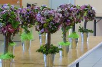 Ateliers d'Art floral - Archignat Composition Ⓒ Muscaris et Cie