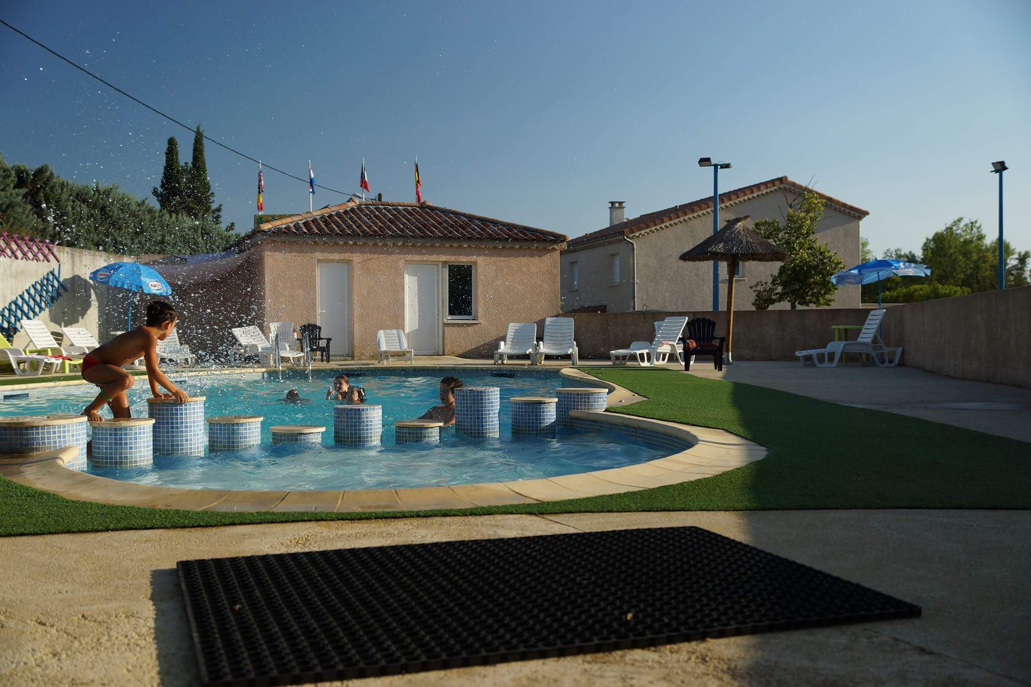Camping l'Oasis des Garrigues