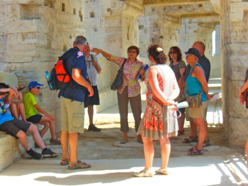 Visite guidée de l'amphithéâtre