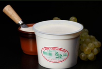 Le Petit Franchesse Crème crue fraîche fermière épaisse Ⓒ Site internet - 2020