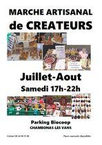 Marché artisanal de créateurs - Chambonas
