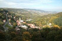 Vue du village de Valfleury