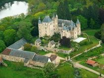 Château de Puy-Guillon Vue aérienne Ⓒ Dominique Blanzat