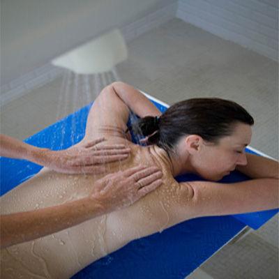 Massage avec douche