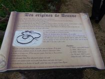 Parcours historique de Beaune-d'Allier Les origines de Beaune Ⓒ Annick Vassel - 2015