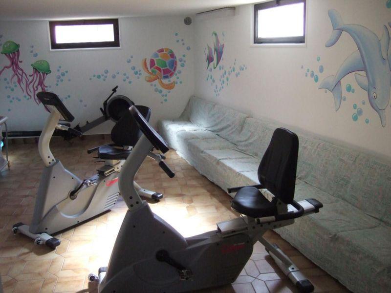 salle de sport - © Pavillon Carina