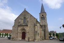Église Saint-Loup Porte et façade Ⓒ Mairie de St-Hilaire