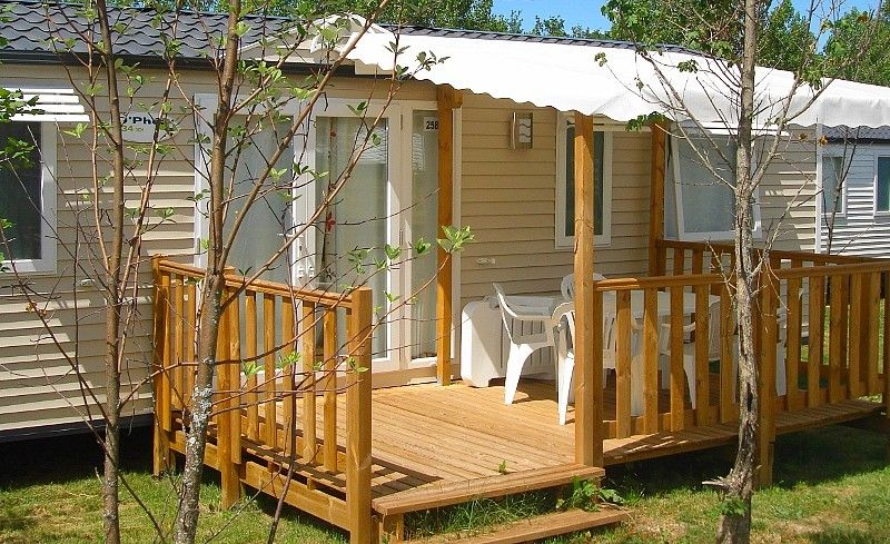 mobilhome 6/7 pers - © Camping du Lac
