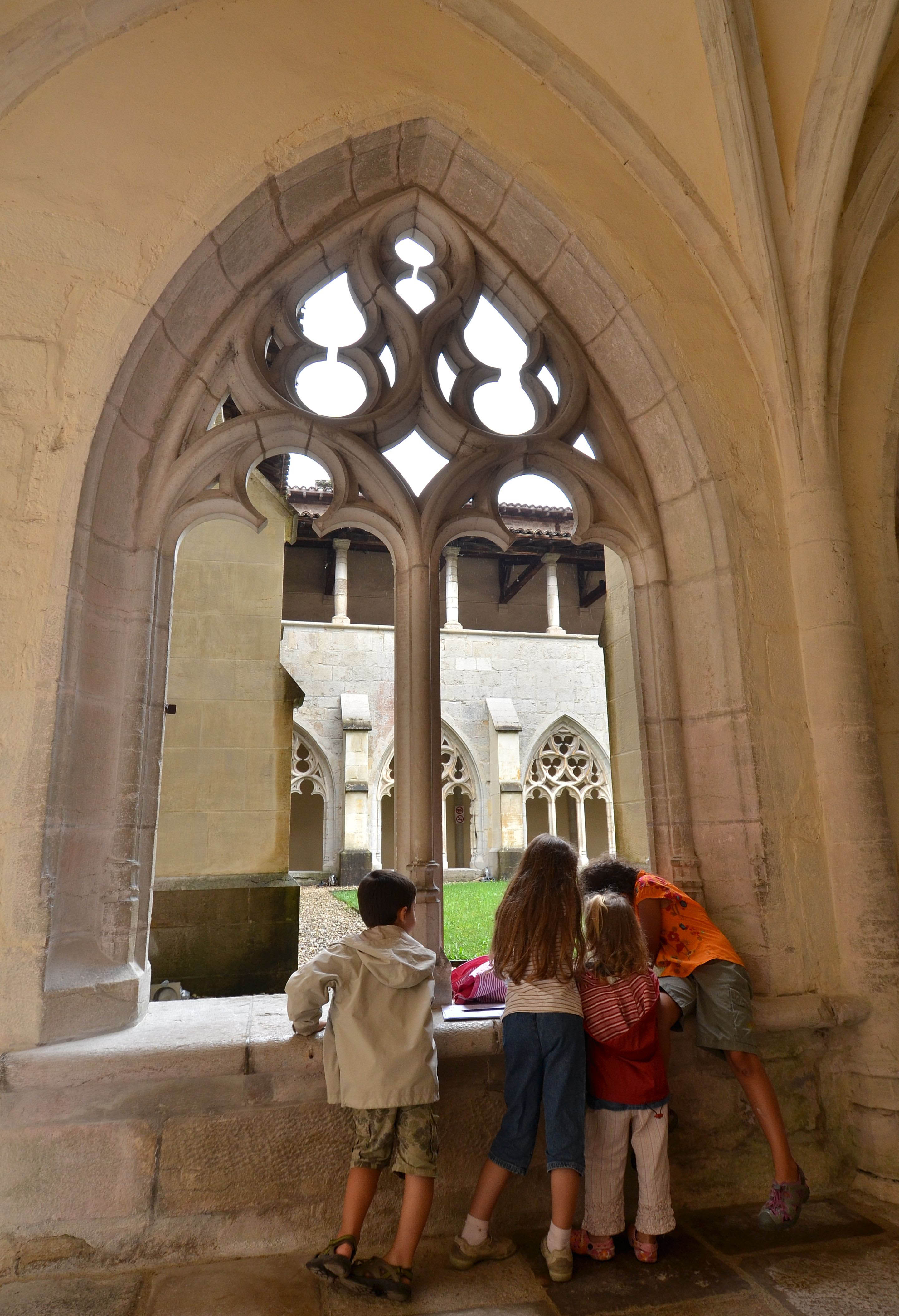 Jeu parcours Abbaye d'Ambronay