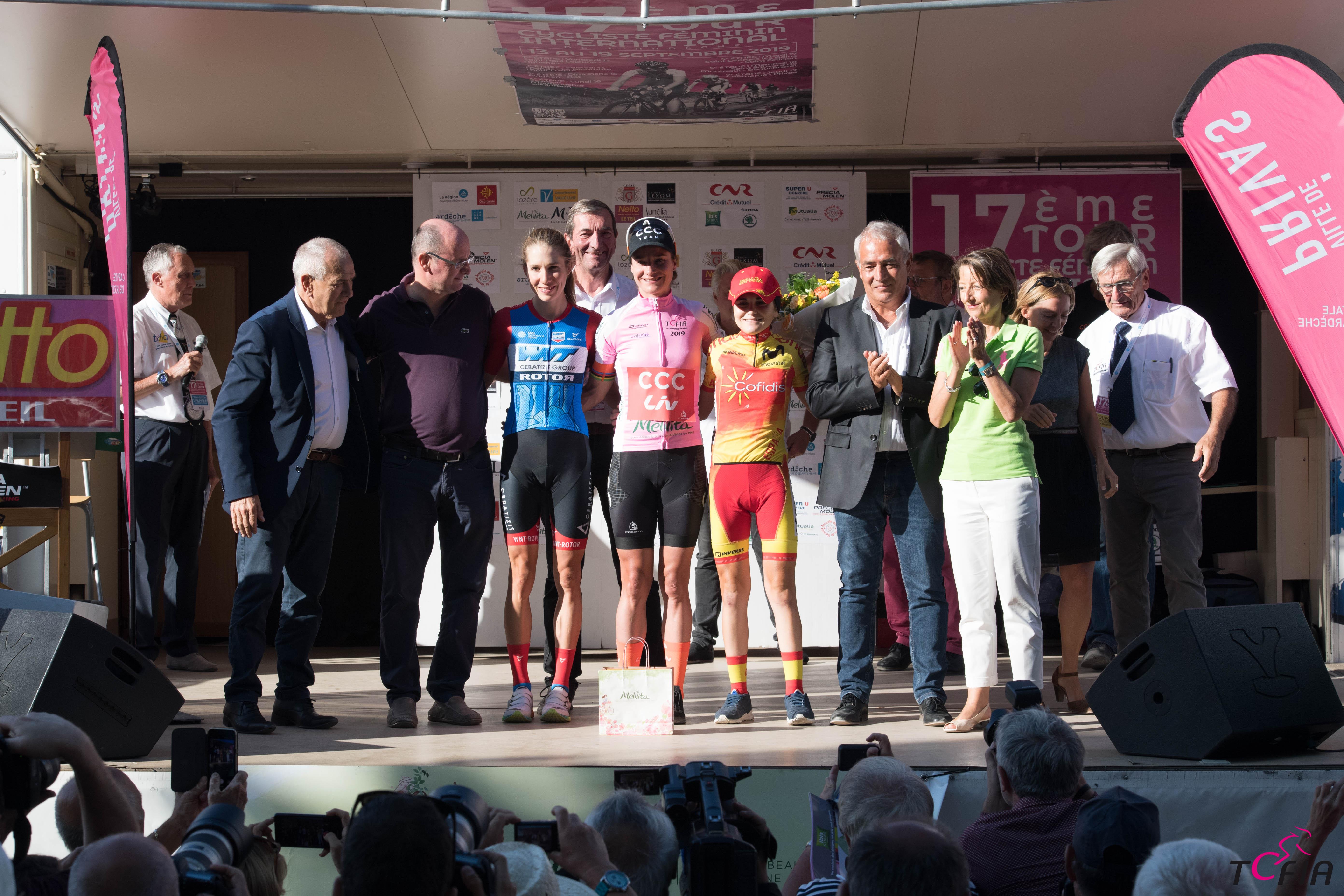 18e Tour Cycliste Féminin International de lArdèche