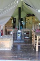 Camping Bonneblond Intérieur d'une tente Ⓒ Camping Bonneblond - 2020
