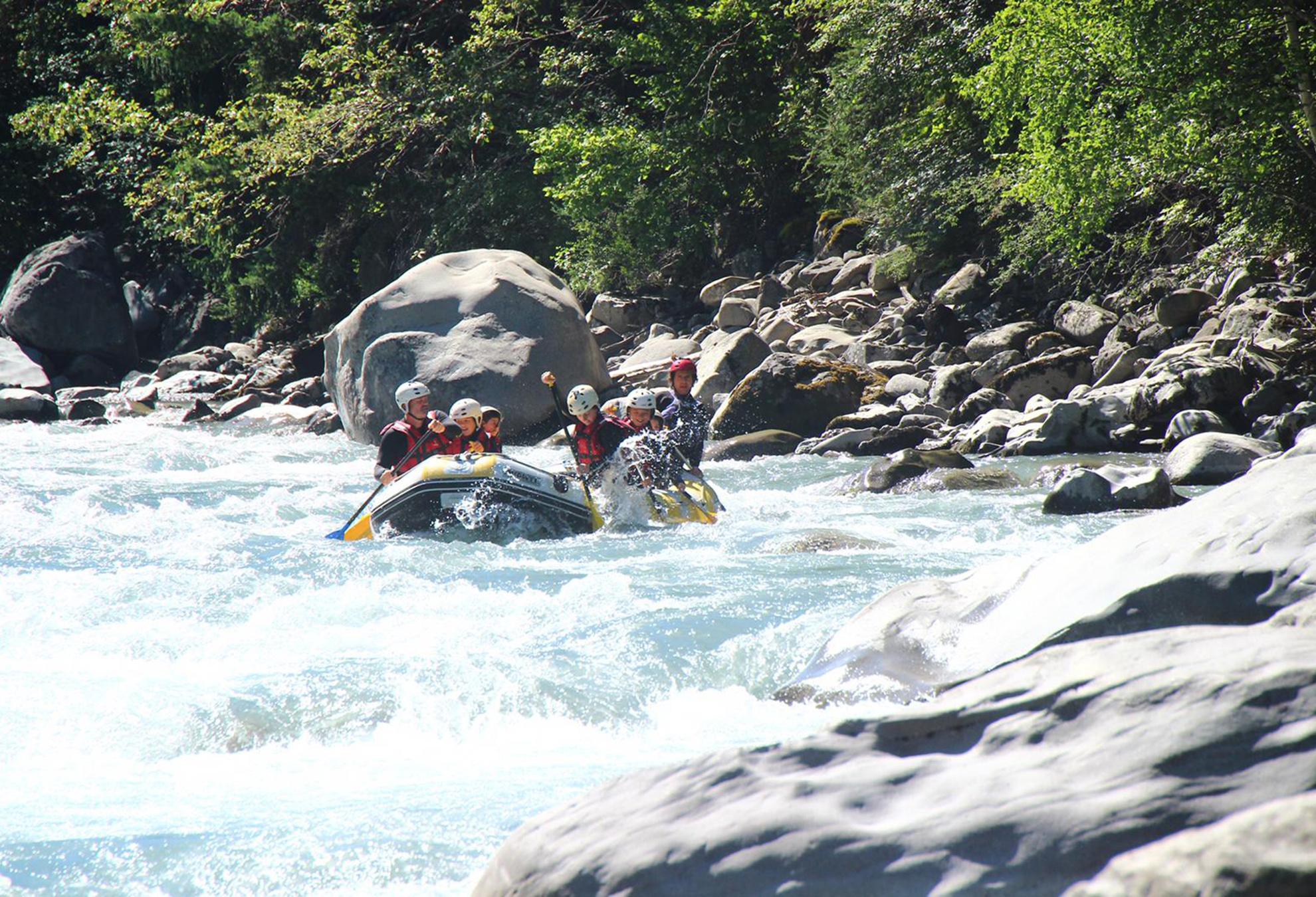 Fresh Rafting