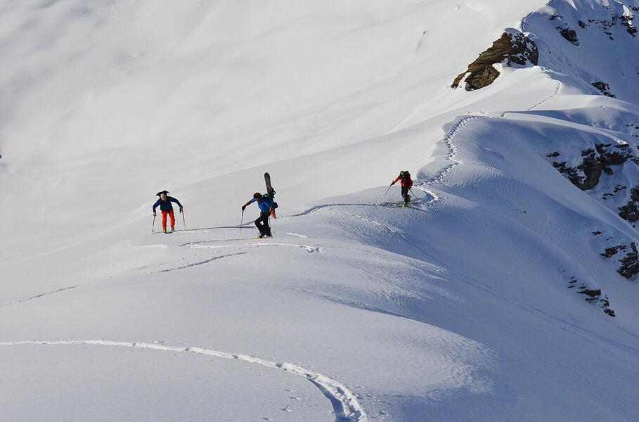 Ski de randonnée - © Lionel Philip