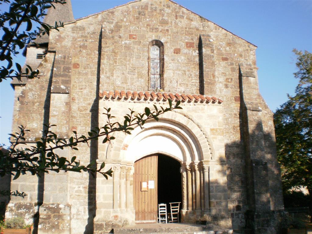 Église Saint-Martin -  Louroux-Bourbonnais Portail entrée Ⓒ Mairie - Louroux-Bourbonnais