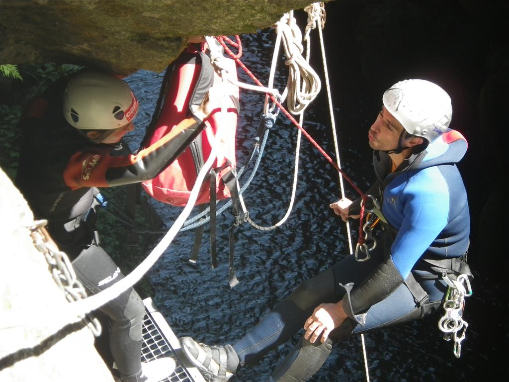 Escale verticale Canyoning Ⓒ Escale verticale - 2015